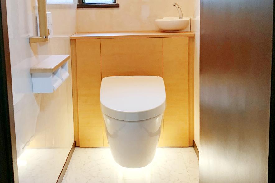 垂水区T様邸トイレ